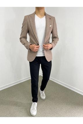 خرید کت تک مردانه اصل مجلسی برند twenplus رنگ بژ کد ty119907468