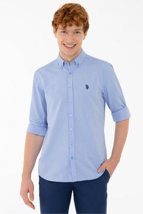 پیراهن مردانه مدل 2021 مارک U.S. Polo Assn.برند US Polo رنگ آبی کد ty120816566