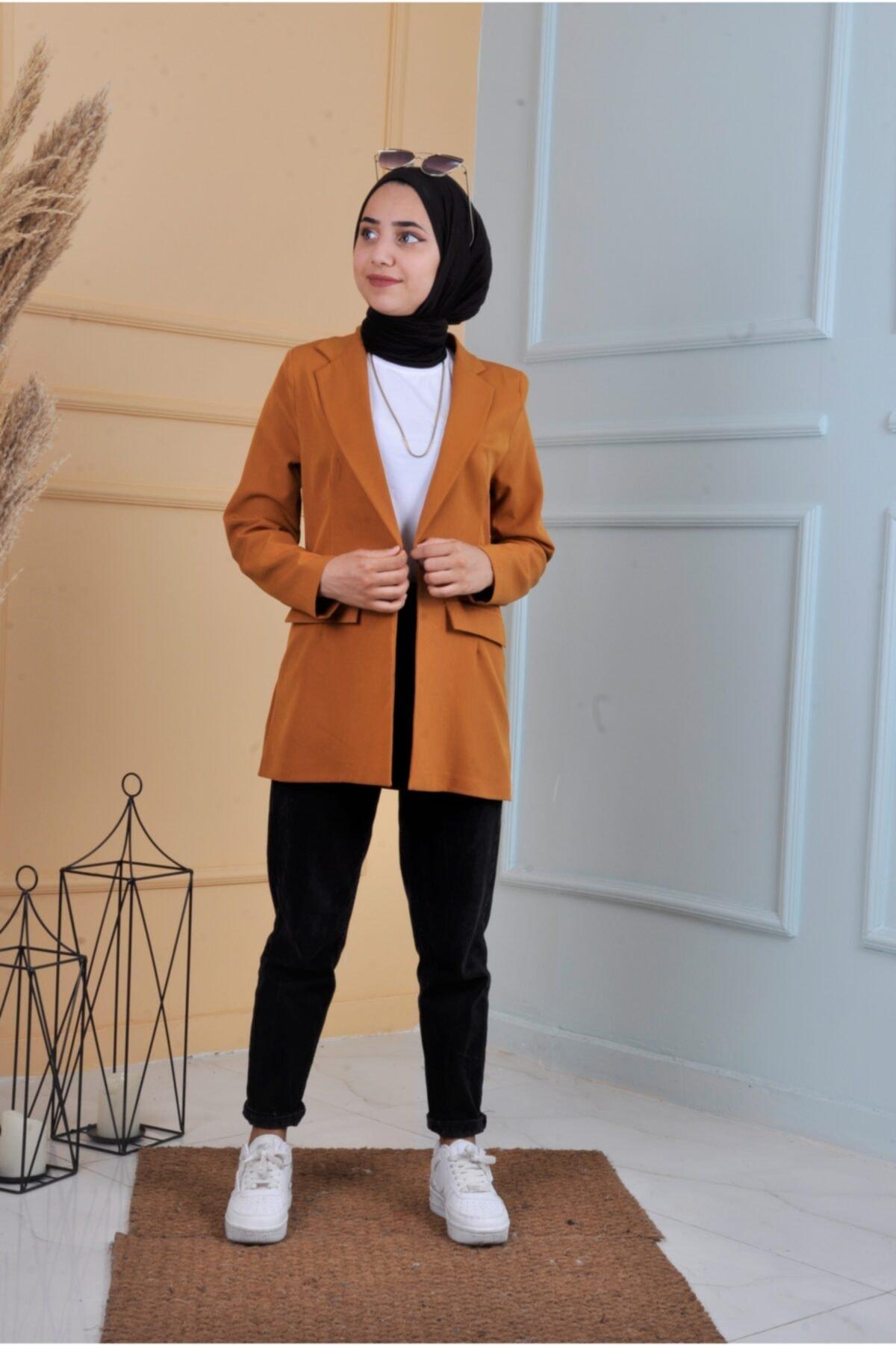 فروش کت تک مردانه حراجی برند ucuzaverme رنگ زرد ty122059001