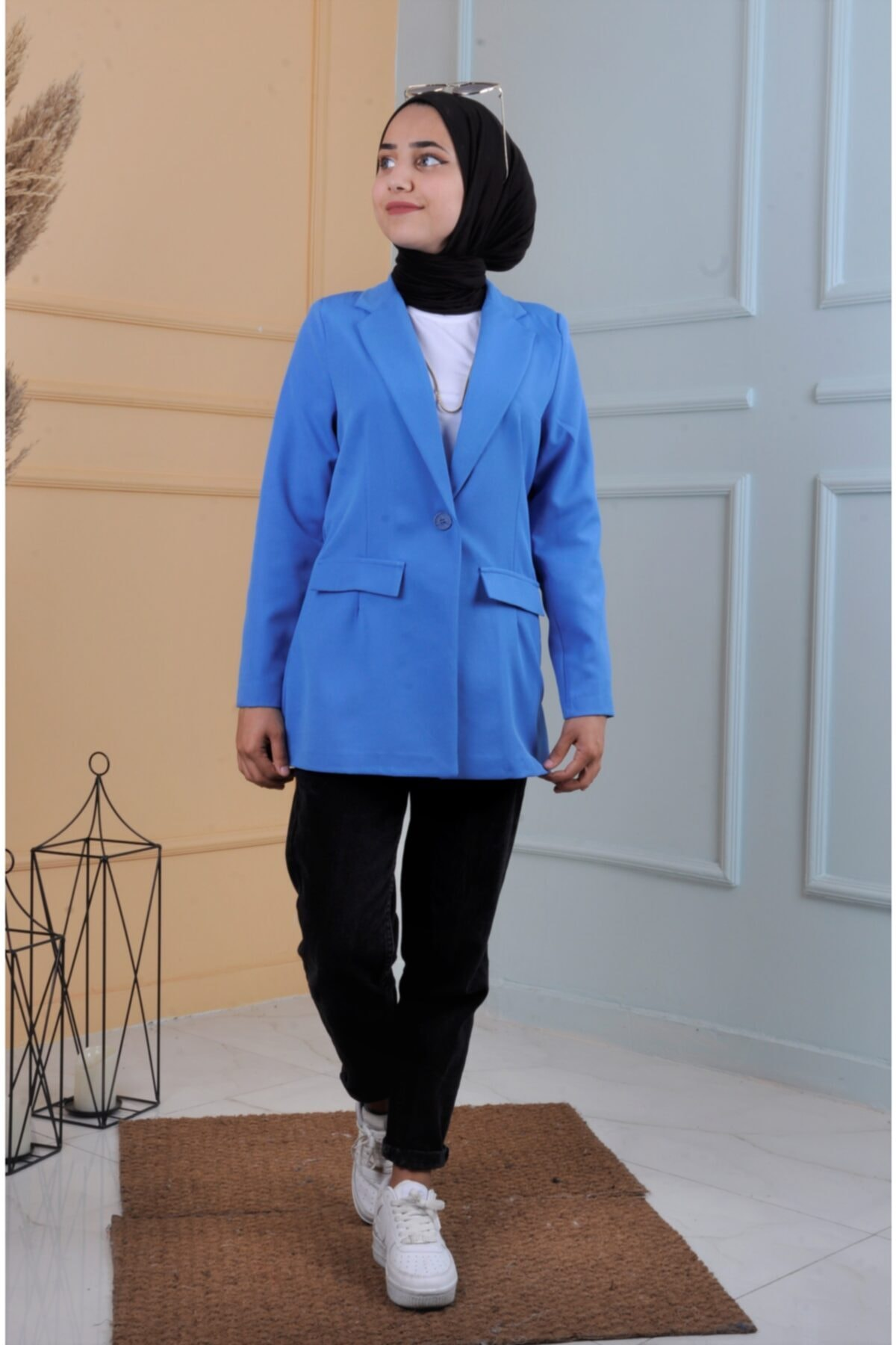 سفارش کت تک مردانه ارزان برند ucuzaverme رنگ آبی کد ty122196249
