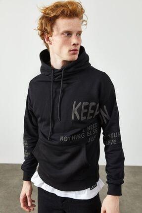 فروش پستی سویشرت مردانه شیک جدید برند XHAN رنگ مشکی کد ty145317598