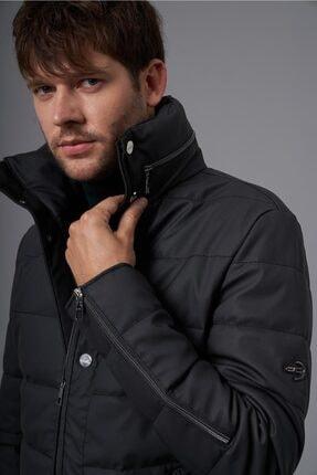 سفارش انلاین کاپشن چرم مردانه ساده برند Deri Company رنگ مشکی کد ty146965978
