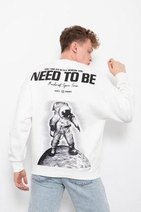 سویشرت مردانه قیمت مناسب برند XHAN رنگ سفید ty150237490