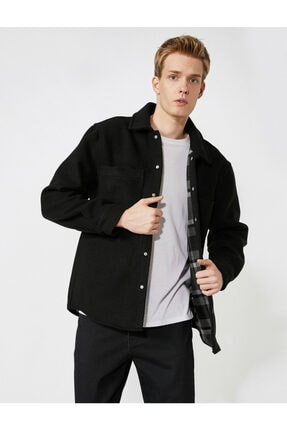 فروش کت جین مردانه برند کوتون رنگ مشکی کد ty150665492