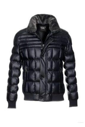 قیمت کاپشن چرم مردانه برند Brango لاجوردی ty158699943