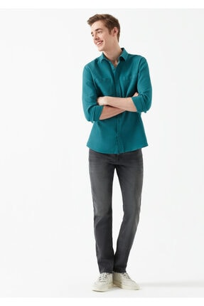 مدل شلوار جین مردانه برند ماوی رنگ نقره ای کد ty2158039