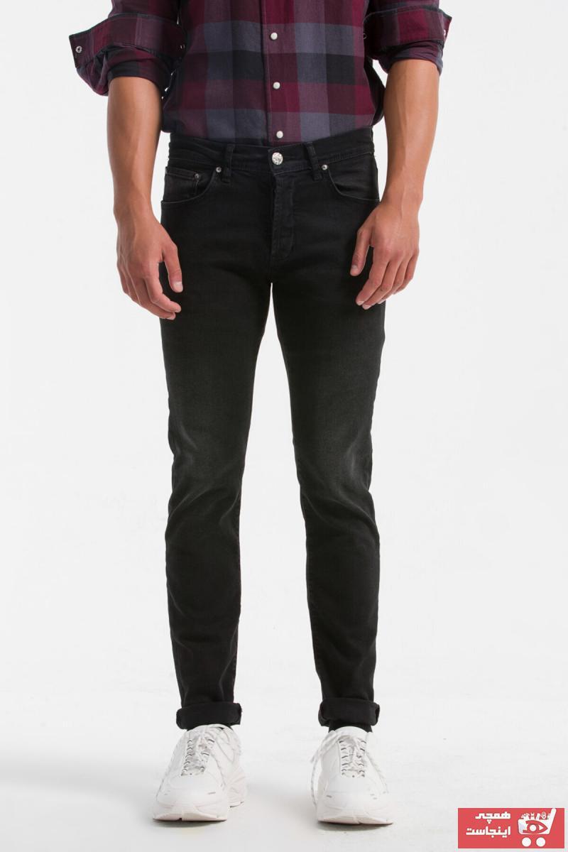 شلوار جین مردانه زیبا برند ترک Ltb رنگ مشکی کد ty29592059