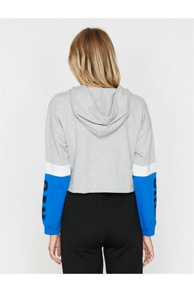سفارش انلاین گرمکن ورزشی ساده برند کوتون رنگ نقره ای کد ty31714701