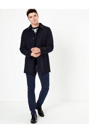 فروش پستی پالتو مردانه شیک جدید برند Marks & Spencer رنگ لاجوردی کد ty32862528