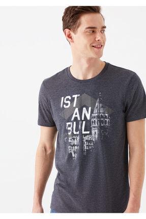 تی شرت مردانه ترک برند ماوی رنگ نقره ای کد ty3410930