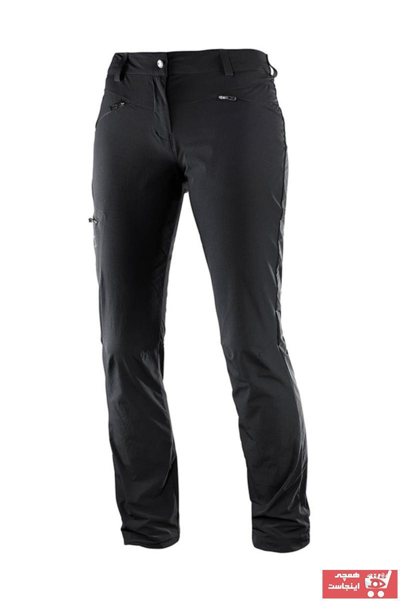 خرید انلاین شلوار ورزشی جدید مردانه شیک برند Salomon رنگ مشکی کد ty35298210