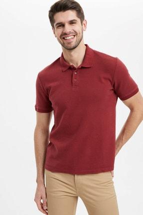 خرید انلاین تی شرت مردانه خاص برند دفاکتو ترکیه رنگ زرشکی ty36431780