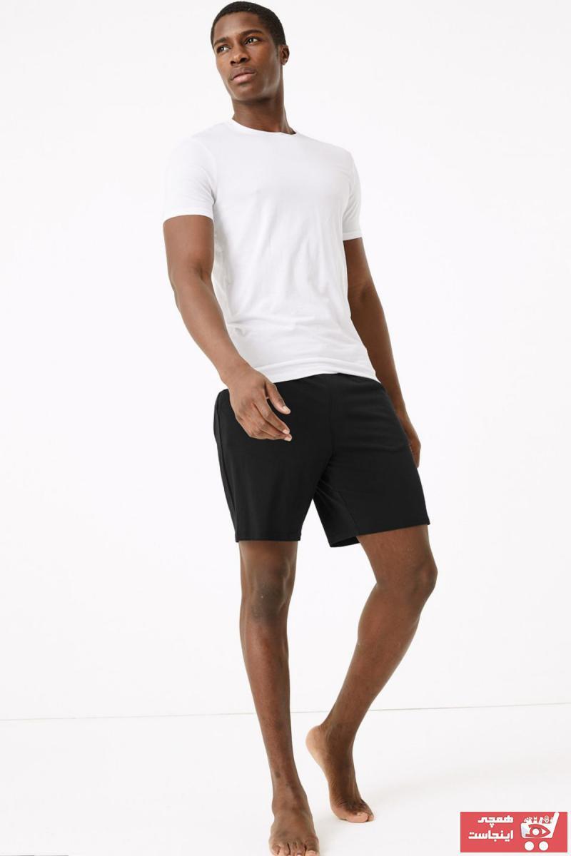 سفارش اینترنتی پیژامه مردانه برند Marks & Spencer رنگ مشکی کد ty37473266