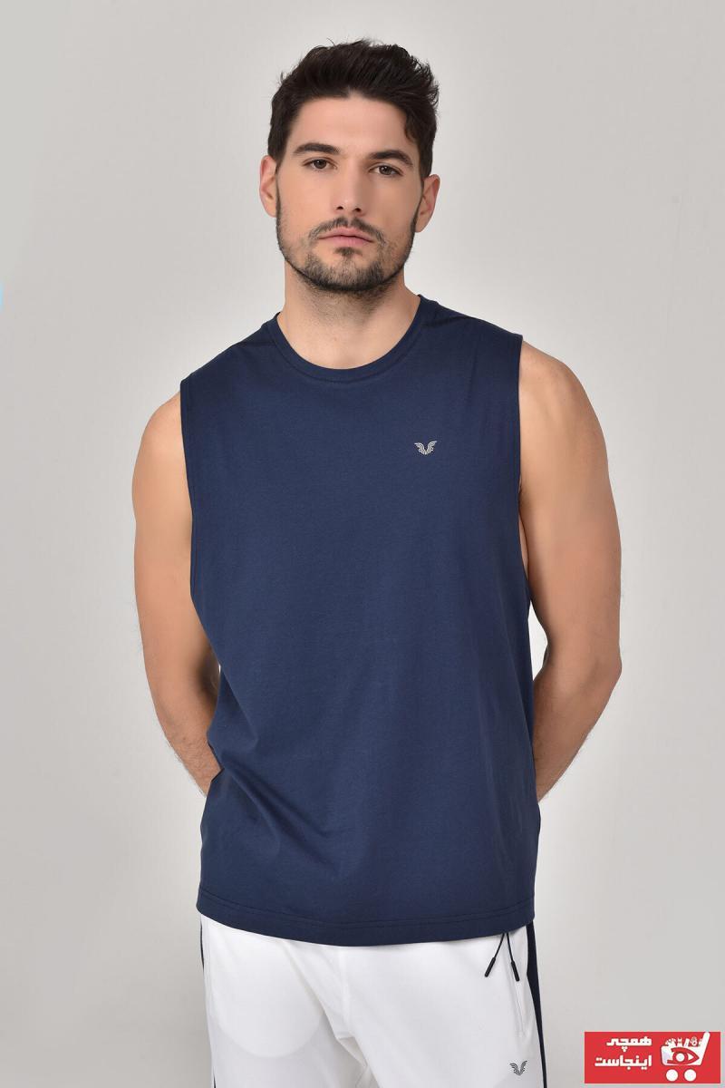 فروش پستی ست رکابی ورزشی مردانه برند bilcee رنگ لاجوردی کد ty38792731