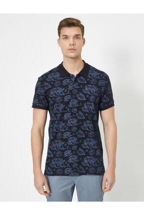پولوشرت مردانه فروش برند کوتون رنگ لاجوردی کد ty40205759