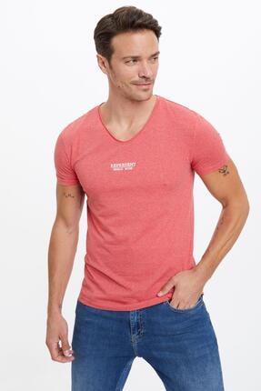 تی شرت مردانه 2021 برند دفاکتو ترکیه رنگ آبی کد ty41806303