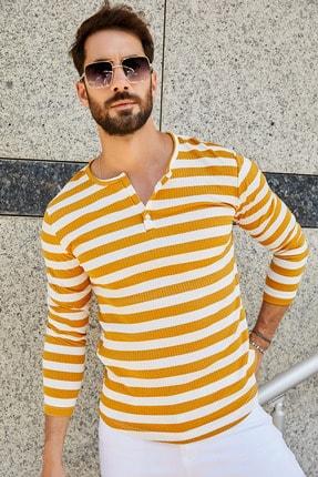 خرید نقدی پیراهن مردانه  برند Sateen Men رنگ زرد ty42664411