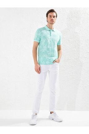 خرید تیشرت مردانه شیک برند ال سی وایکیکی رنگ سبز کد ty44750797