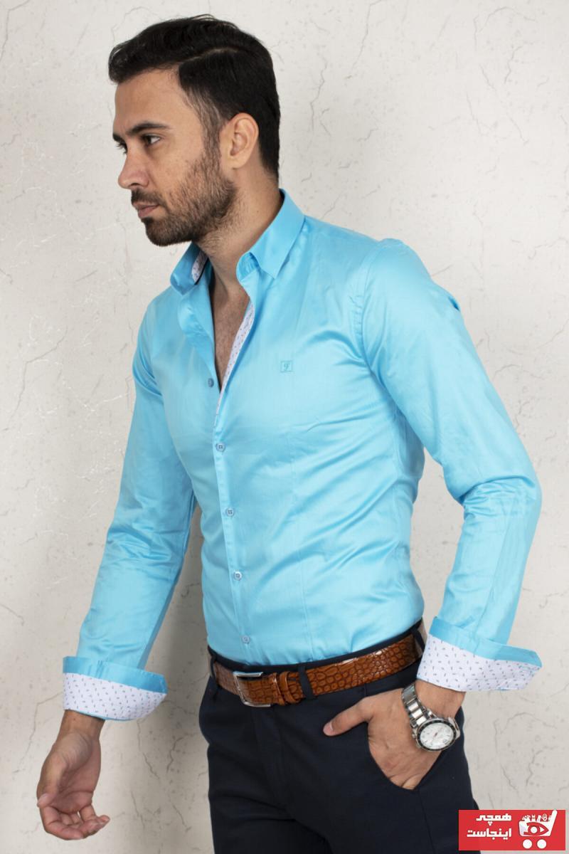 خرید اینترنتی پیراهن بلند برند دیپسی رنگ آبی کد ty44817425