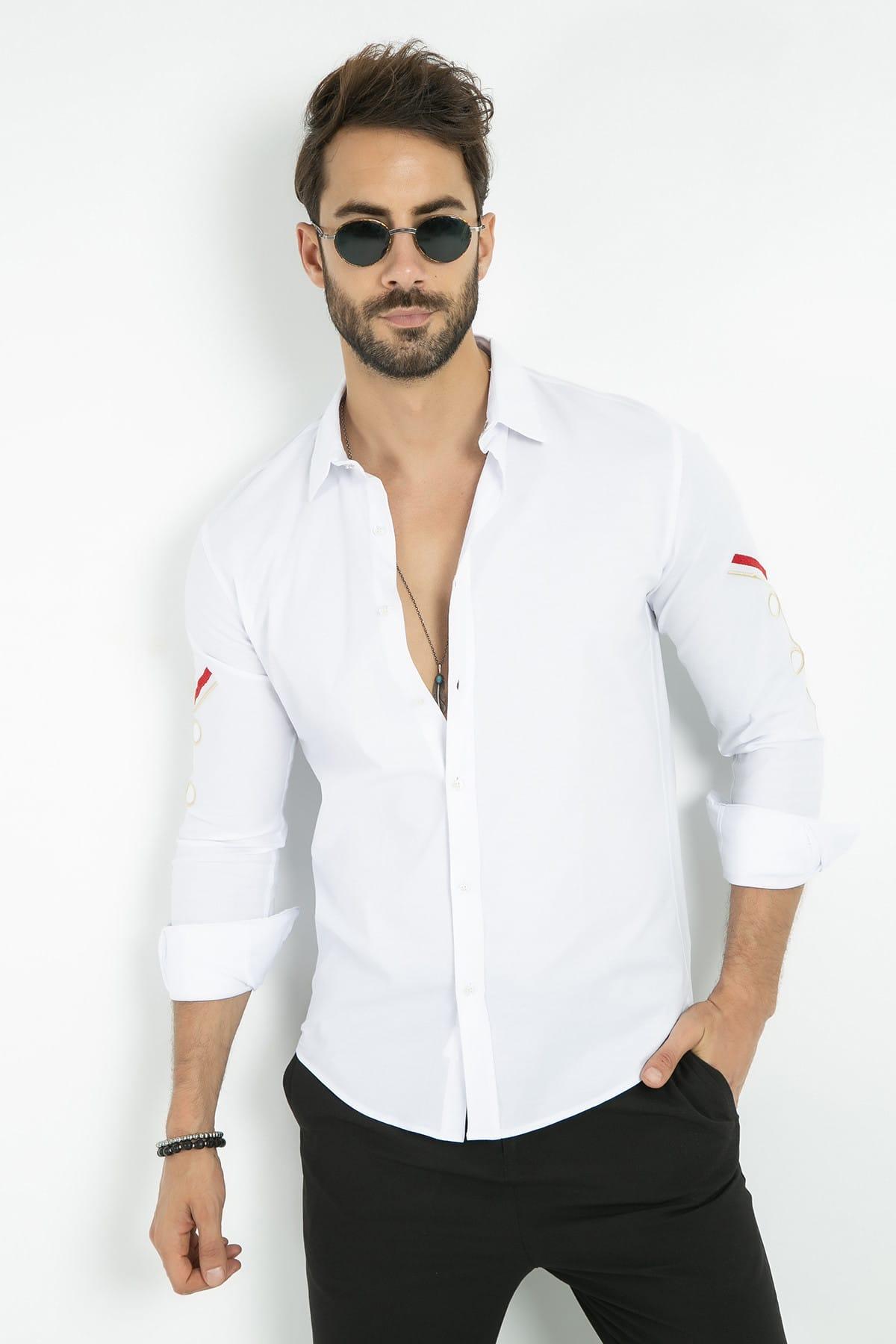 خرید انلاین پیراهن جدید مردانه شیک برند Sateen Men کد ty4485991