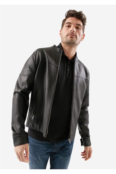 ژاکت چرم مردانه ست برند ماوی کد ty4489532