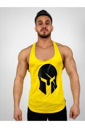 فروش تاپ ورزشی مردانه جدید برند BLACK رنگ زرد ty45608721