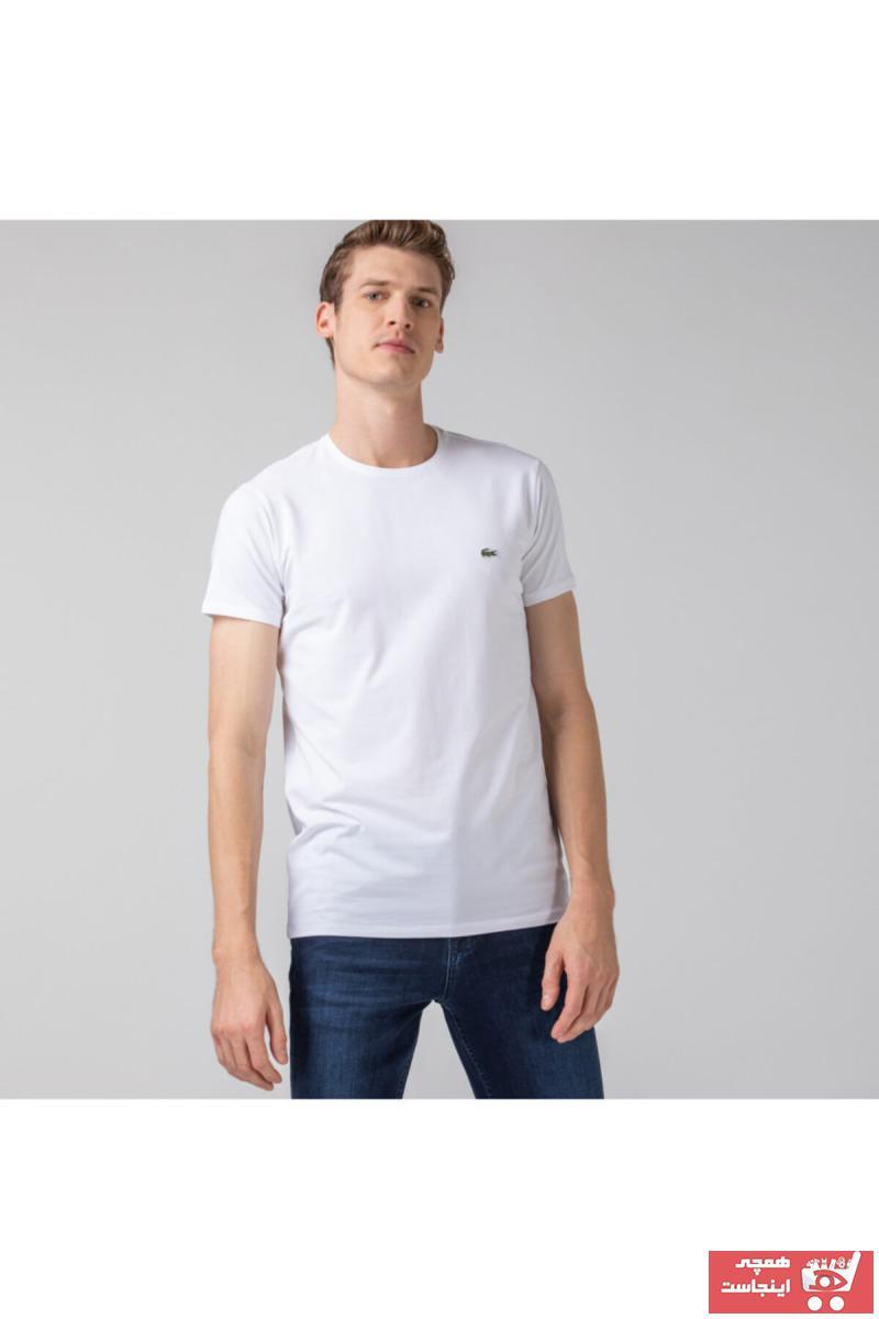 خرید تیشرت مردانه شیک مجلسی برند لاگوست کد ty4590298