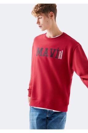 ژورنال سویشرت مردانه برند ماوی رنگ قرمز ty47295840
