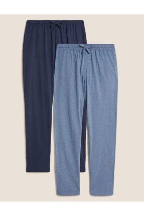سفارش اینترنتی پیژامه مردانه برند Marks & Spencer رنگ لاجوردی کد ty47603338