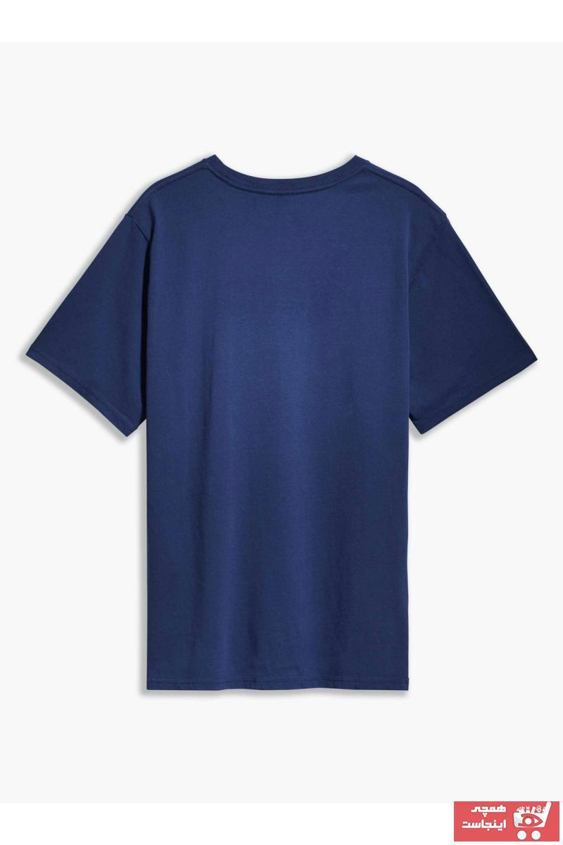 تیشرت مردانه شیک مجلسی برند Levis رنگ لاجوردی کد ty48463833