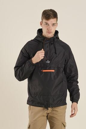 بارانی مردانه ساده برند اکسید رنگ مشکی کد ty49648956