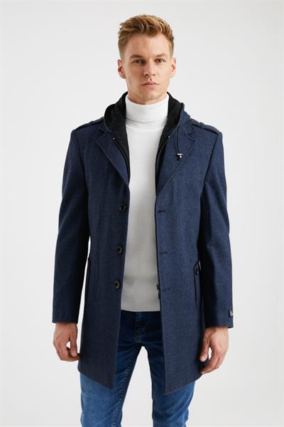 فروشگاه پالتو مردانه اینترنتی برند DYNAMO رنگ لاجوردی کد ty50438333