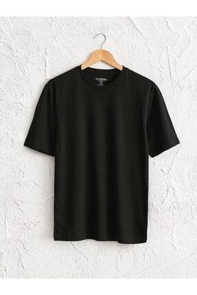 خرید اسان تیشرت مردانه زیبا برند ال سی وایکیکی رنگ مشکی کد ty51117288
