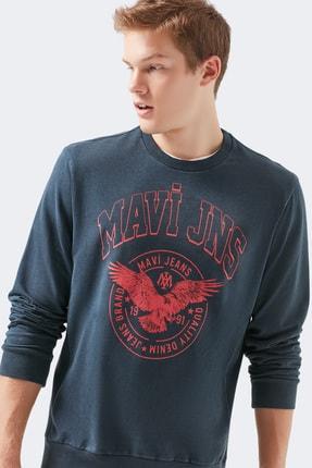 خرید سویشرت مردانه شیک مجلسی برند ماوی رنگ آبی کد ty51777173