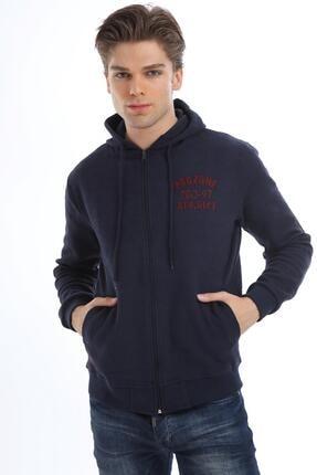 خرید پستی ژاکت بافتی مردانه پارچه نخی برند Prozone رنگ لاجوردی کد ty55447870