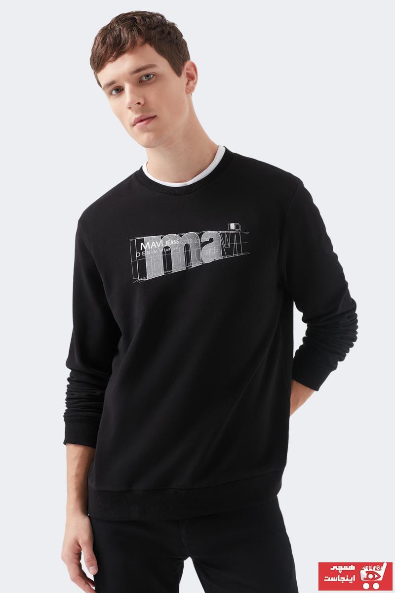 فروش سویشرت مردانه حراجی برند ماوی رنگ مشکی کد ty55504287