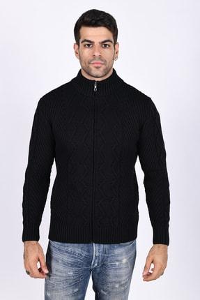 فروش انلاین ژاکت بافتی مردانه برند Trist Star رنگ مشکی کد ty55661421