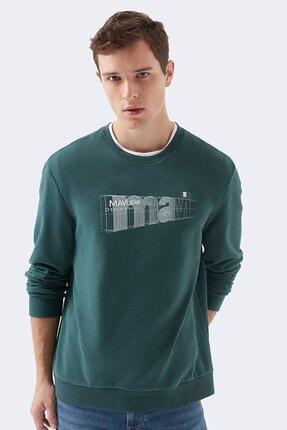 سویشرت شیک مردانه برند ماوی رنگ سبز کد ty55949071