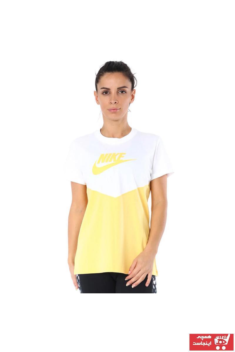 فروش پستی تیشرت ورزشی مردانه ترک برند Nike رنگ مشکی کد ty58041521