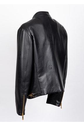 خرید اینترنتی ژاکت چرم مردانه از استانبول برند ورساچ رنگ مشکی کد ty62504180