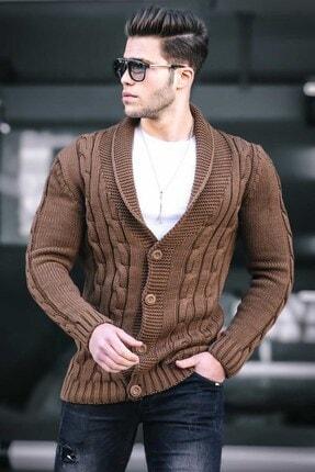 هودی مردانه قیمت مناسب برند Madmext رنگ قهوه ای کد ty64881915