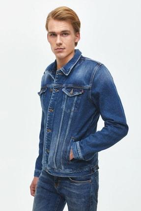 خرید پستی ژاکت جین زیبا برند ال تی بی رنگ لاجوردی کد ty66505376