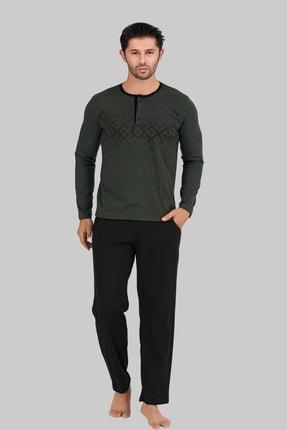 ست راحتی مردانه برند Berland رنگ سبز کد ty67971125
