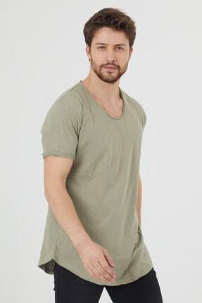 تی شرت مردانه اینترنتی برند Tarz Cool رنگ لاجوردی کد ty69186190