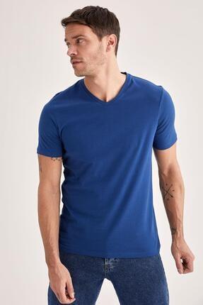 خرید انلاین تی شرت مردانه ترکیه برند دفاکتو رنگ کرمی کد ty70499170