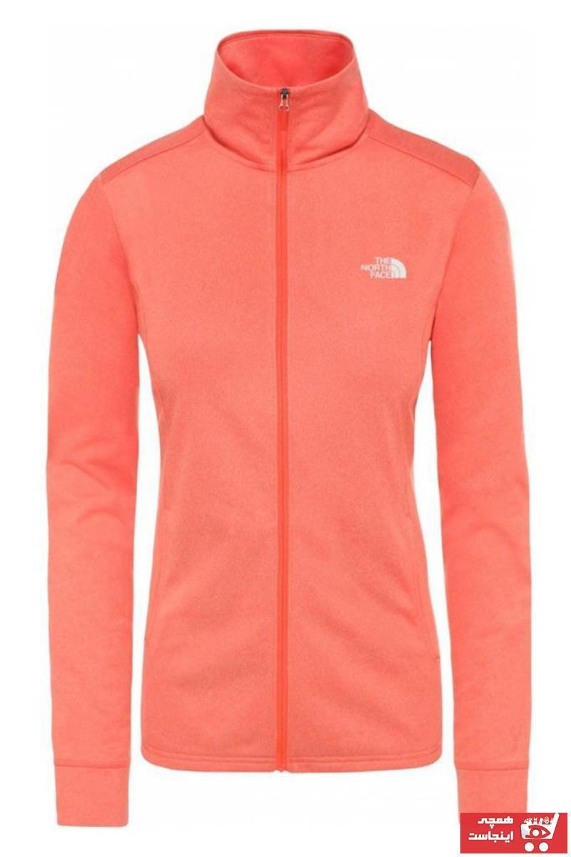 خرید انلاین کاپشن ورزشی جدید مردانه شیک برند نورث فیس The North Face رنگ نارنجی کد ty72236984