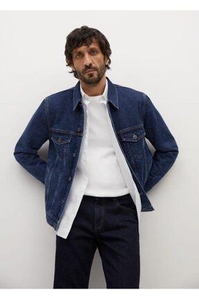 فروش اینترنتی ژاکت لی مردانه با قیمت برند MANGO Man رنگ آبی کد ty75477466