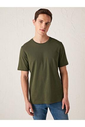 فروش تیشرت جدید مارک ال سی وایکیکی رنگ خاکی کد ty79764075