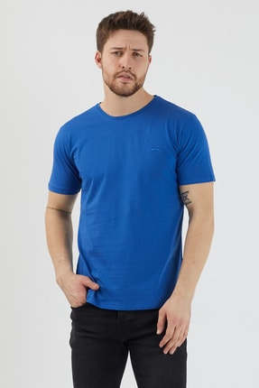 تیشرت مردانه برند اسلازنگر رنگ لاجوردی کد ty79875294