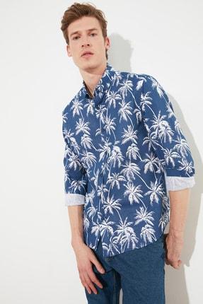 پیراهن مردانه ارزان برند ترندیول مرد رنگ لاجوردی کد ty81679717